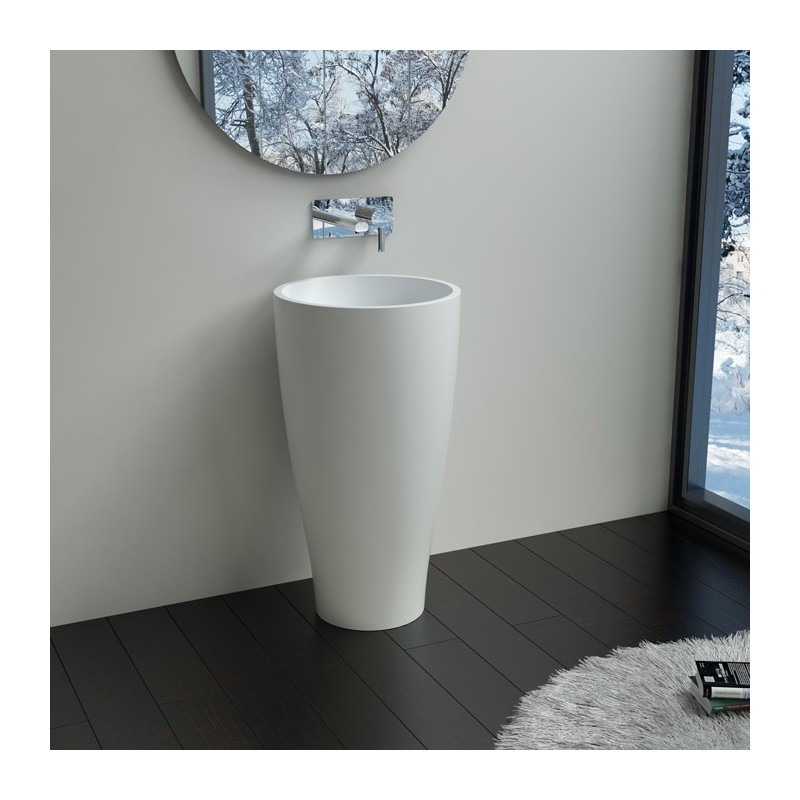 vasque colonne design lave main sur pied design vasque totem de salle de bain salledebain online. Black Bedroom Furniture Sets. Home Design Ideas
