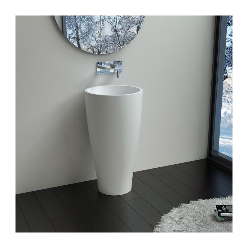 vasque colonne design lave main sur pied design vasque totem de salle de bain salledebain online