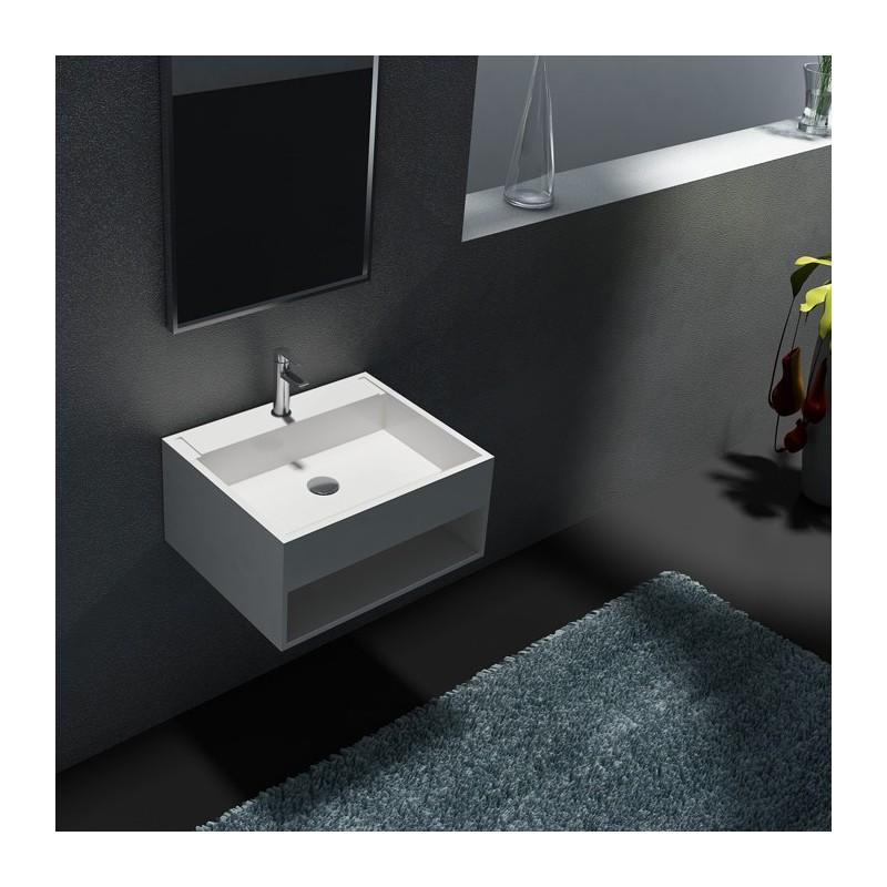 Grand lave-main avec espace de rangement SDWD38159