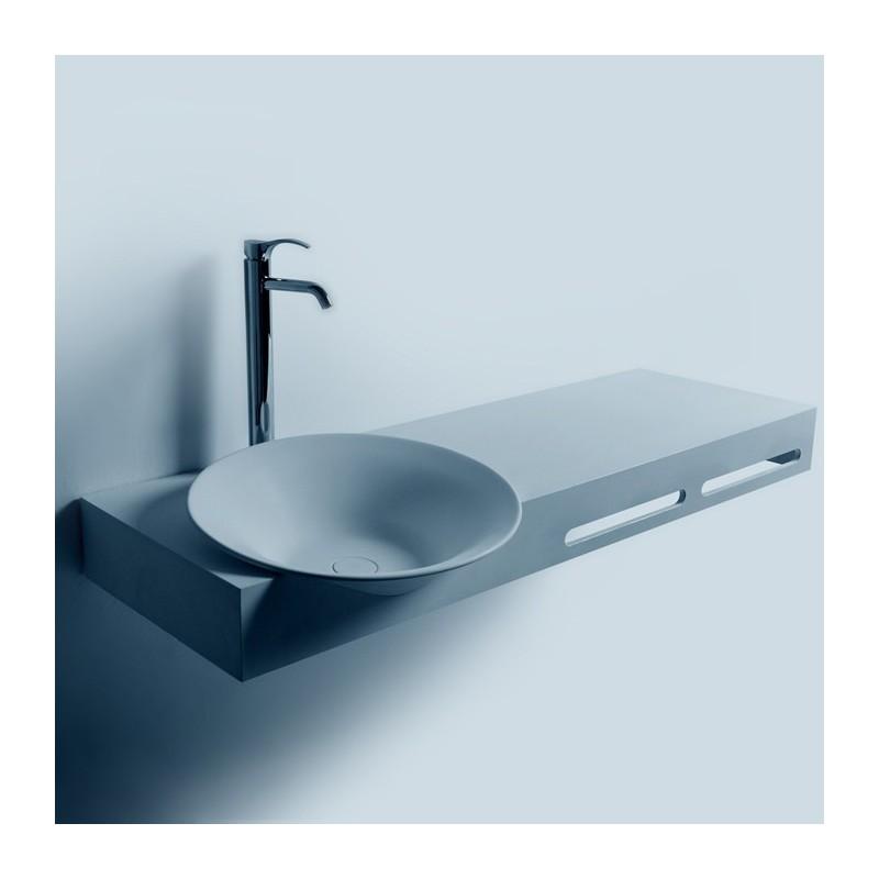 SDWD3890-1 : Plan vasque avec deux portes-serviettes