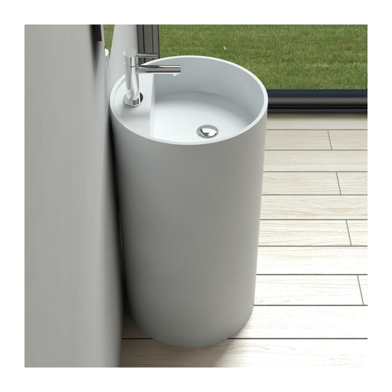 lave mains sur pied cylindrique lave mains sur pied sdpw58. Black Bedroom Furniture Sets. Home Design Ideas