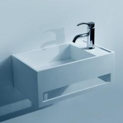 SDWD3877 : lave-mains suspendu avec porte-serviette