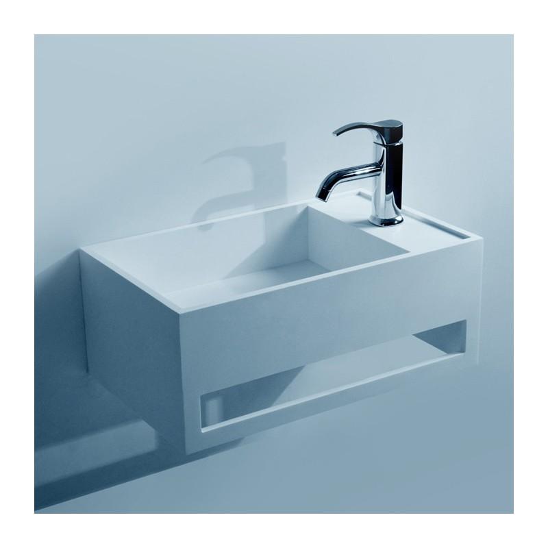 lave mains avec porte serviette int gr. Black Bedroom Furniture Sets. Home Design Ideas