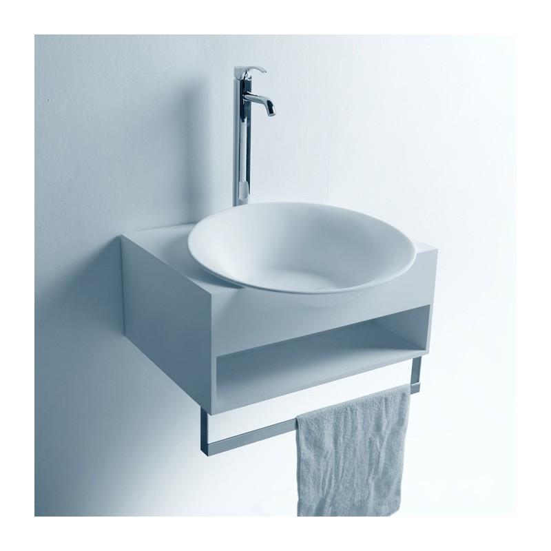 SDWD3871-1 : lave-main avec rangement et porte-serviette