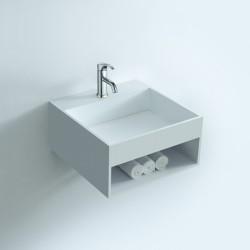 SDWD3836 : lave-mains carré avec espace rangement