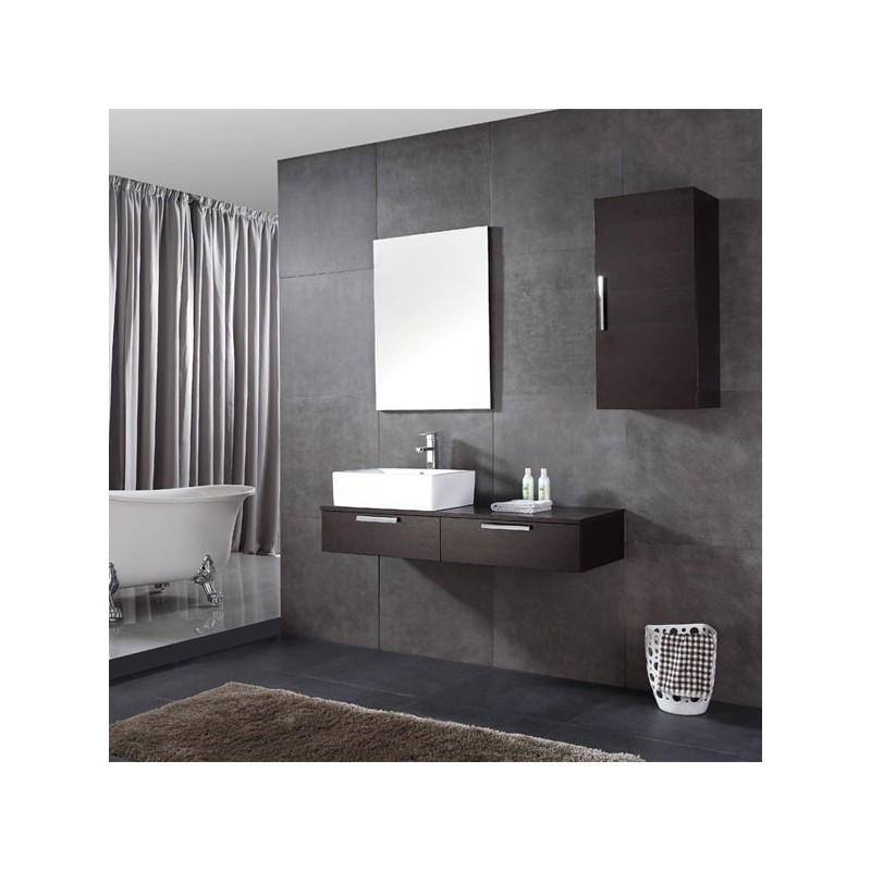 sd030 1200 meuble salle de bain coloris weng salledebain online. Black Bedroom Furniture Sets. Home Design Ideas