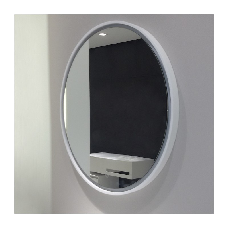 Parfait Miroir Rond à LED, Miroir Lumineux Pour Salle De Bain, Miroir Rond Avec  éclairage