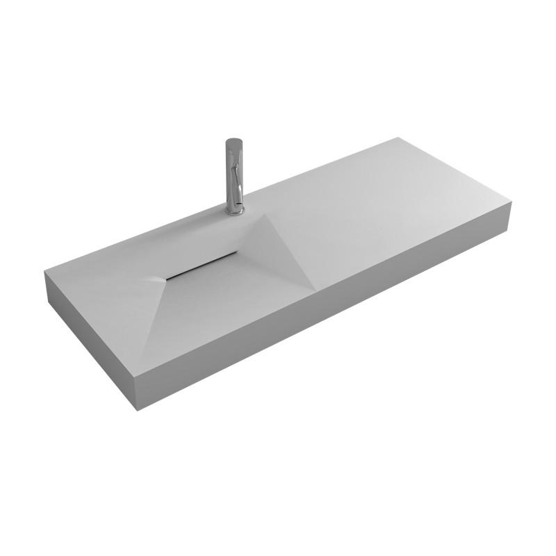 plan vasque en solid surface tr s tendance. Black Bedroom Furniture Sets. Home Design Ideas