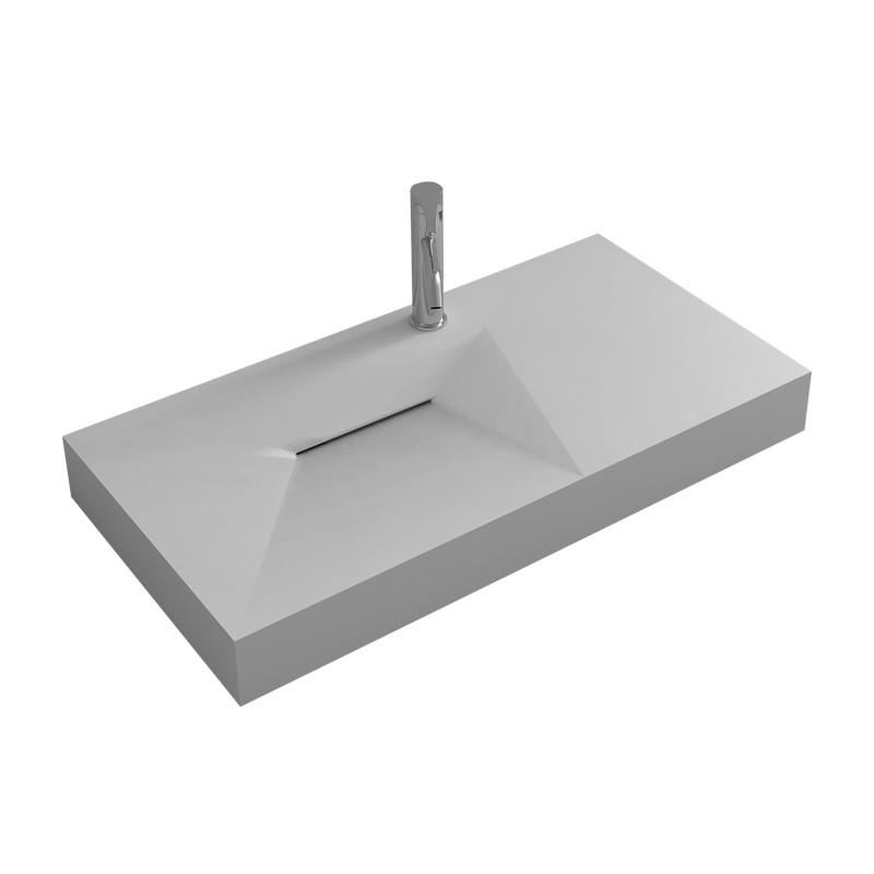Petit plan vasque en polystone SDWD38427