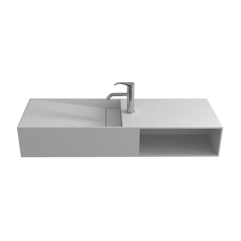 Lave-mains solid avec espace de rangement SDWD38228