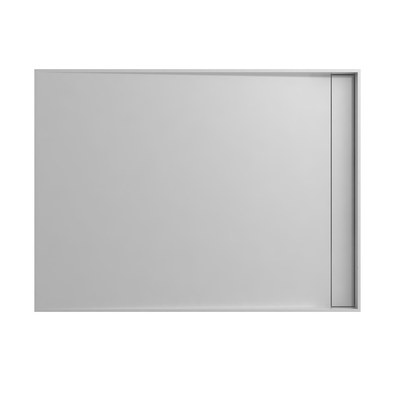 SDWD0481 grand receveur de douche rectangulaire en solid surface