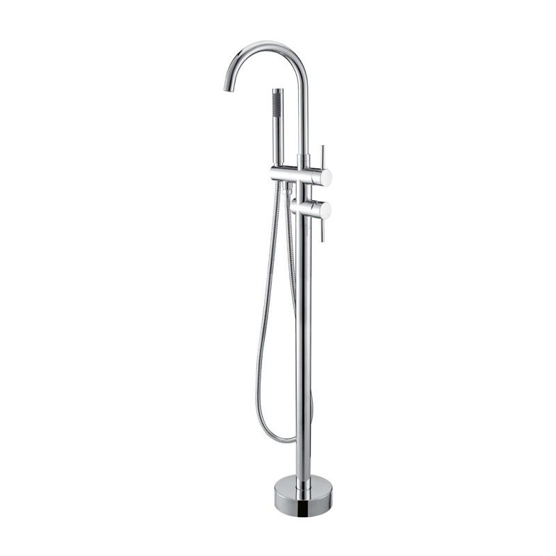 robinetterie sur pied pour baignoire lot robinet pour. Black Bedroom Furniture Sets. Home Design Ideas