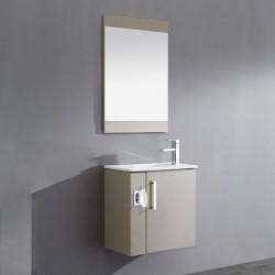 Meuble de salle de bain 1 vasque avec distributeur de mouchoir integré SD092-550AMG