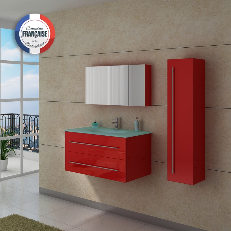 meuble salle de bain ref dis983co. Black Bedroom Furniture Sets. Home Design Ideas