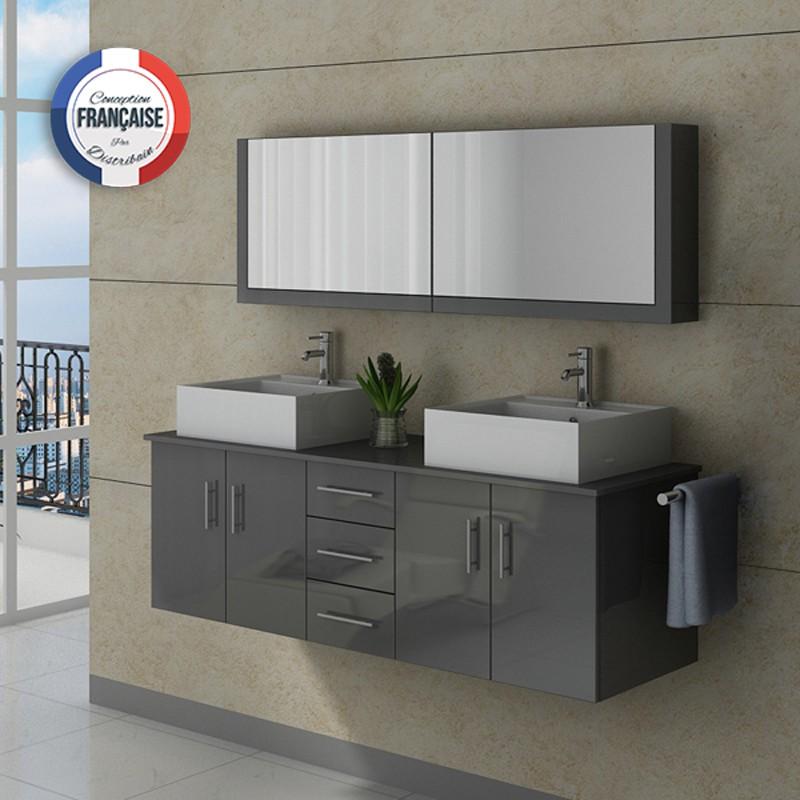 Meuble salle de bain ref dis991gt for Meuble de salle de bain online