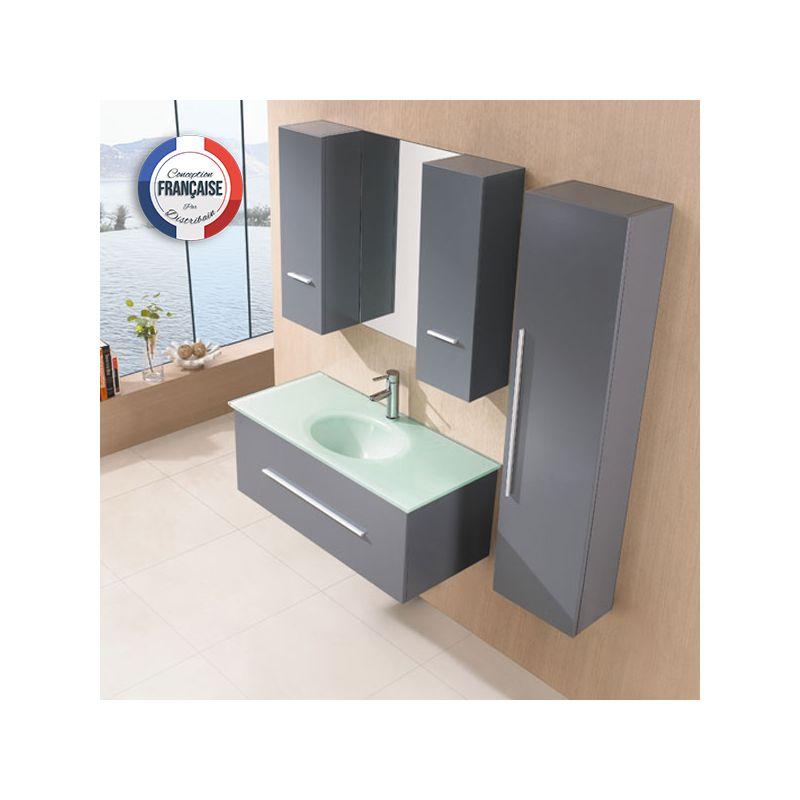 Meuble salle de bain bois gris jersey meuble de salle for Meuble salle de bain gris bois
