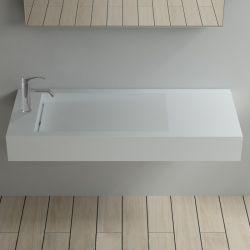 SDPW12-BS : plan vasque avec trou robinetterie