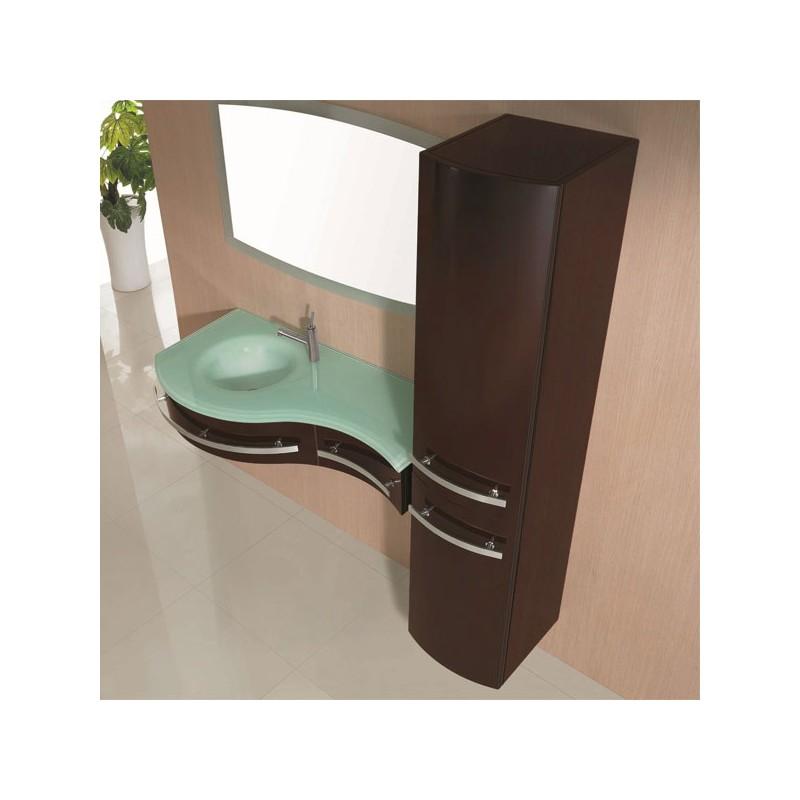 Meuble salle de bain de luxe en bois massif ref sdg926c for Meuble salle de bain de luxe