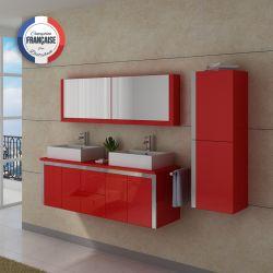 Meuble salle de bain DIS026-1500CO Coquelicot