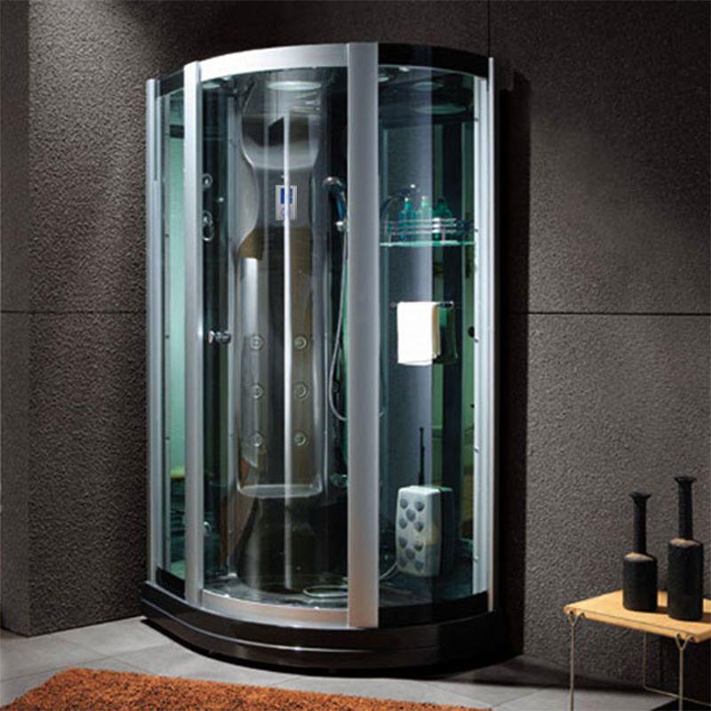 Grande cabine de douche hammam design G-Riviera Noire