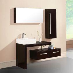 meuble salle de bain pas cher cabine de douche salles bain bois - Salle De Bain Wenge Zen