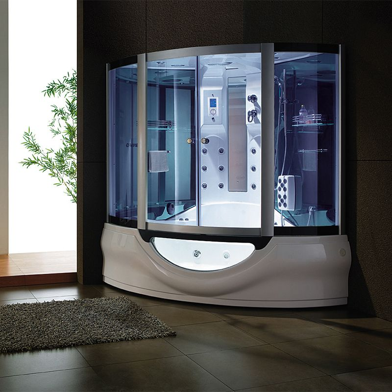 Combiné douche bain pour 2 personnes Tahiti