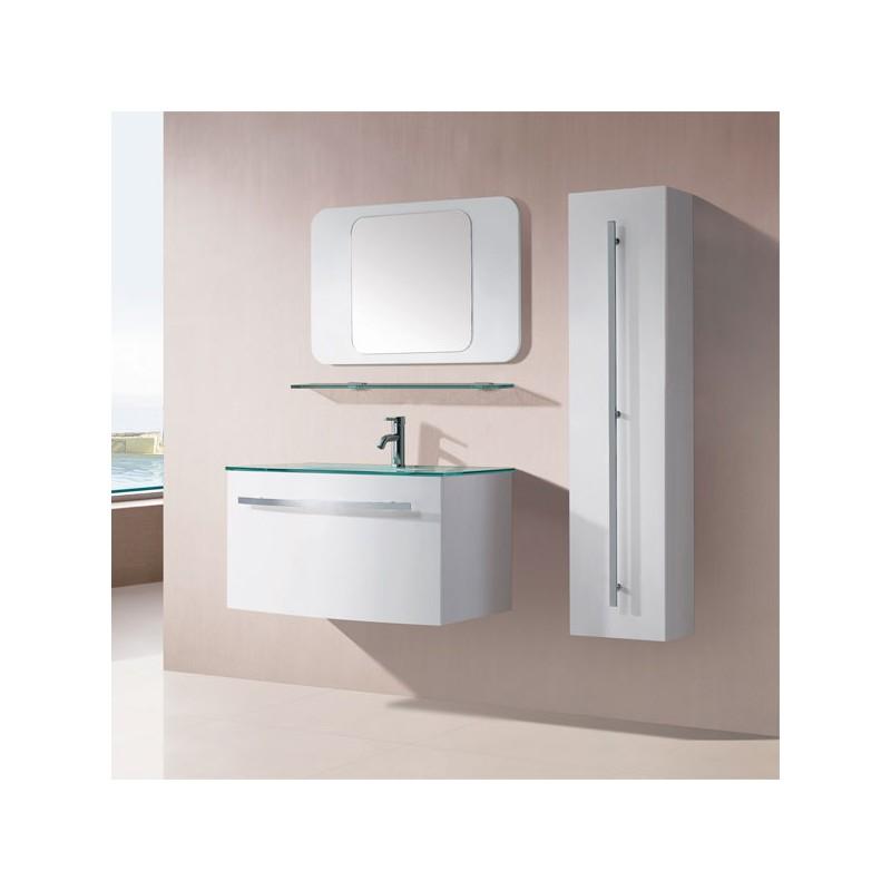 Sdg948b meuble salle de bain blanc for Salle de bain online
