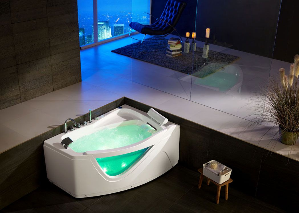 awesome salle de bain a petit jacuzzi gallery amazing. Black Bedroom Furniture Sets. Home Design Ideas