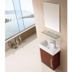 Meuble salle de bain SD960CC coloris chêne clair