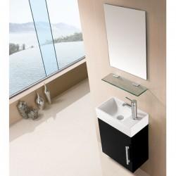 Meuble salle de bain SD960N noir