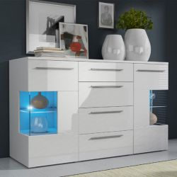 Commode Roma Com blanche