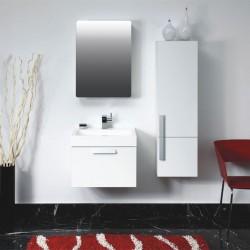 Meuble salle de bain SDP560B coloris blanc