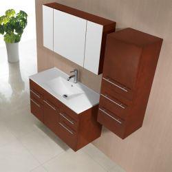 Meuble salle de bain SD959CC coloris chene clair