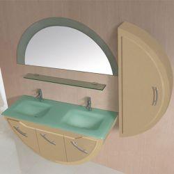 Meuble salle de bain SD947CAP coloris Cappuccino