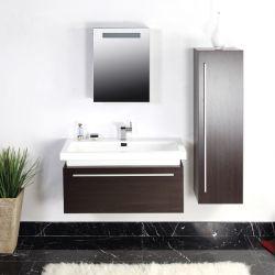 Meuble salle de bain SDP945WCE wengé cerusé