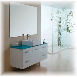 Meuble double vasque SD820B Blanc