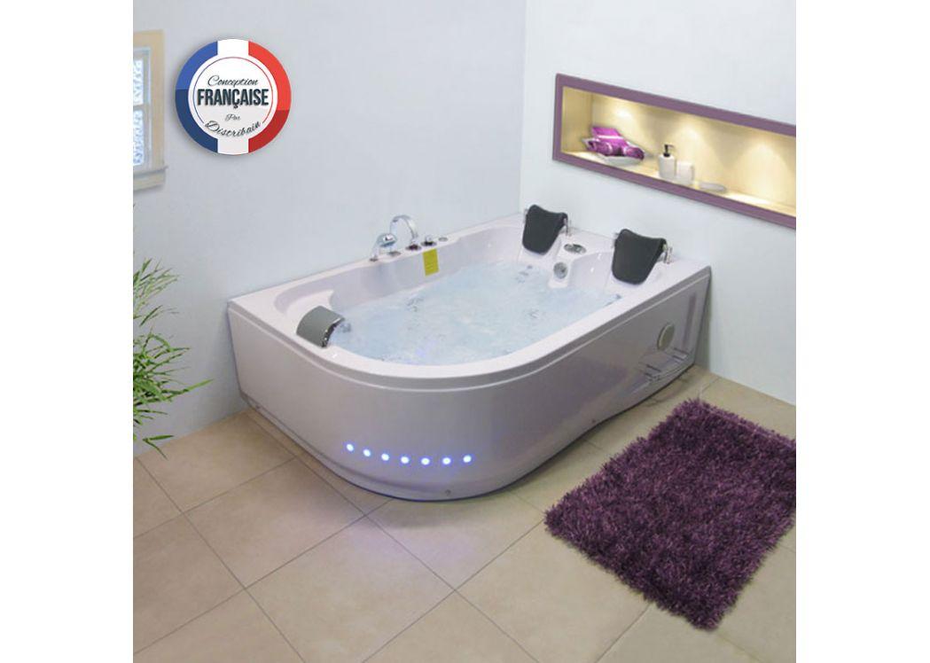 baignoire d 39 angle asym trique g mauna loa baignoire d 39 angle asym trique 180x120. Black Bedroom Furniture Sets. Home Design Ideas