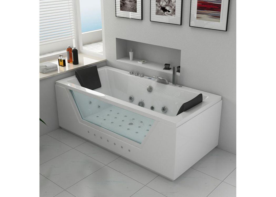 salle de bain avec baignoire balneo tg44 jornalagora. Black Bedroom Furniture Sets. Home Design Ideas