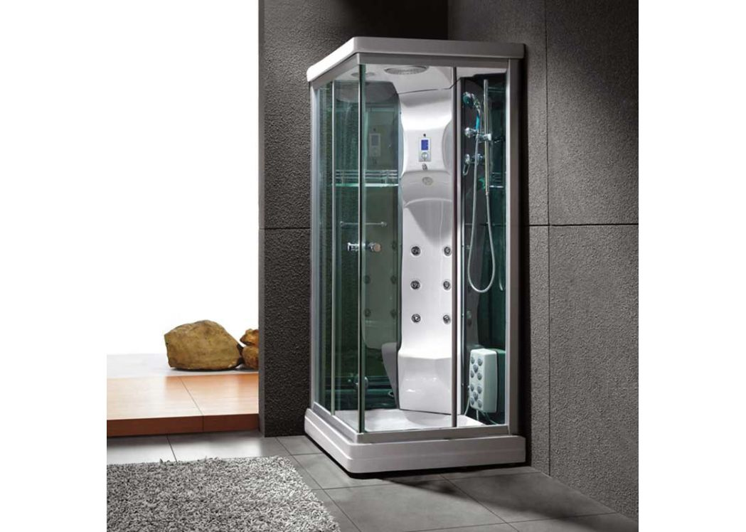 cabine de douche hammam 90x90 cm rectangulaire swan. Black Bedroom Furniture Sets. Home Design Ideas