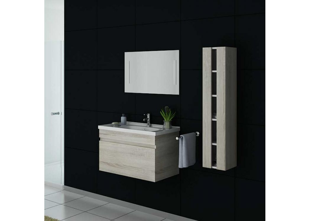 meuble salle de bain ref dis800asc. Black Bedroom Furniture Sets. Home Design Ideas