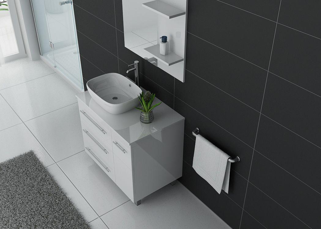 meuble de salle de bain simple vasque ref toscane b. Black Bedroom Furniture Sets. Home Design Ideas