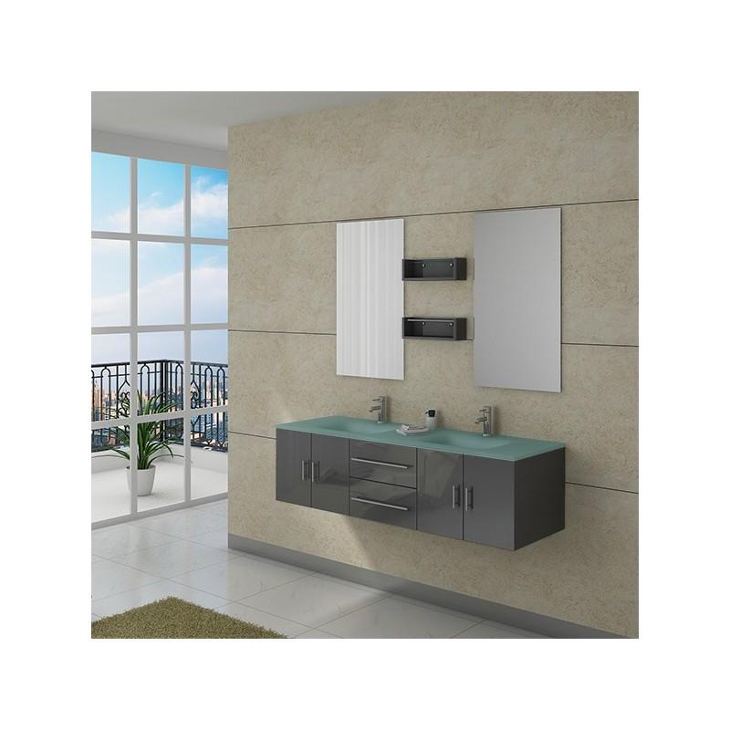 Meuble salle de bain ref dis025 1500b for Salle de bain online