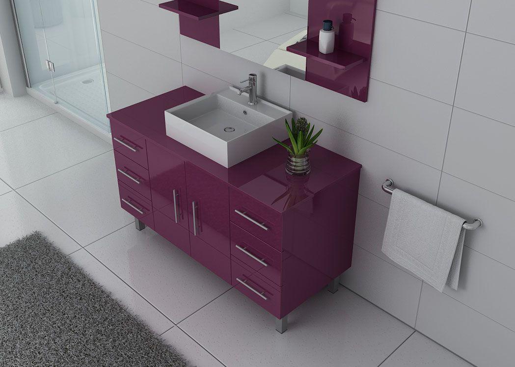 ensemble de salle de bain simple vasque sur pieds ref turin au. Black Bedroom Furniture Sets. Home Design Ideas