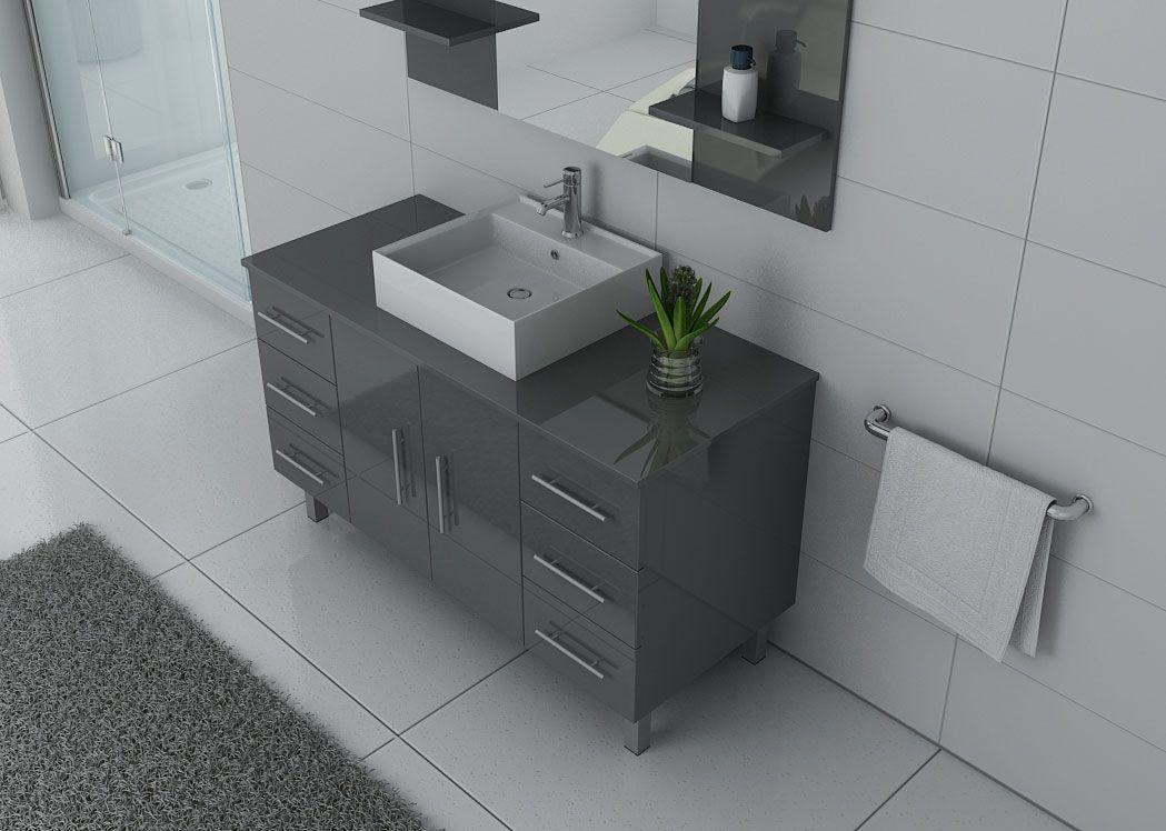 ensemble de salle de bain simple vasque sur pieds ref turin gt. Black Bedroom Furniture Sets. Home Design Ideas