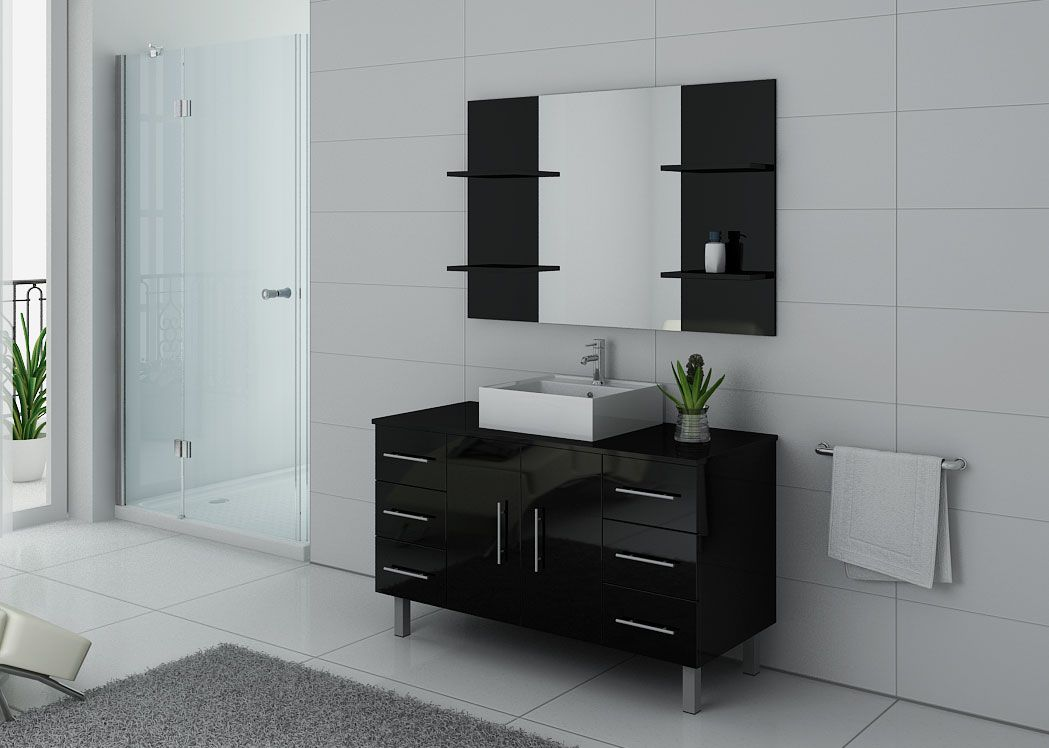 ensemble de salle de bain avec pieds 1 vasque ensemble de. Black Bedroom Furniture Sets. Home Design Ideas