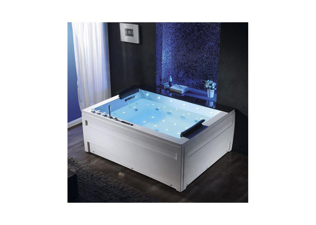 baignoire balneo rectangulaire philadelphia. Black Bedroom Furniture Sets. Home Design Ideas