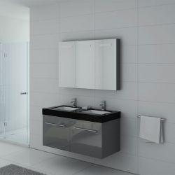 Meubles salle de bain DIS1200GT gris taupe