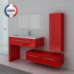 Meuble de salle de bain pas cher discount meubles design for Meuble vasque solde