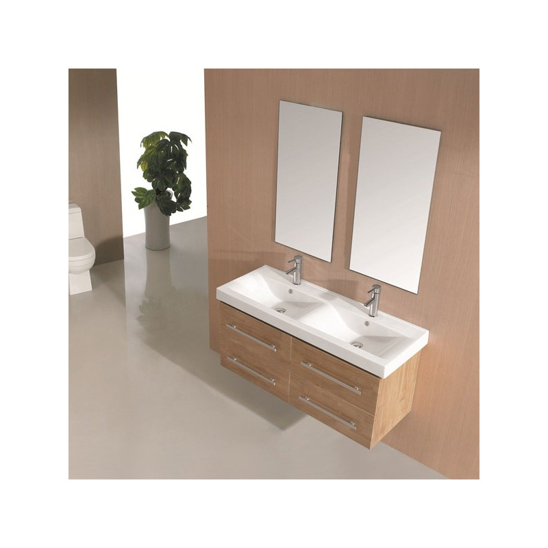Meuble salle de bain bois massif naturel latest salle de for Meuble salle de bain bois massif naturel