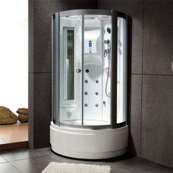 Cabine de douche avec facade ronde Saona